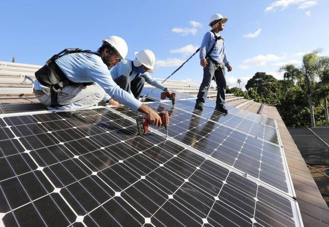 Jobs in solar industry
