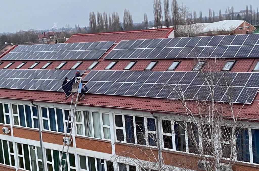 Schools producing electricity