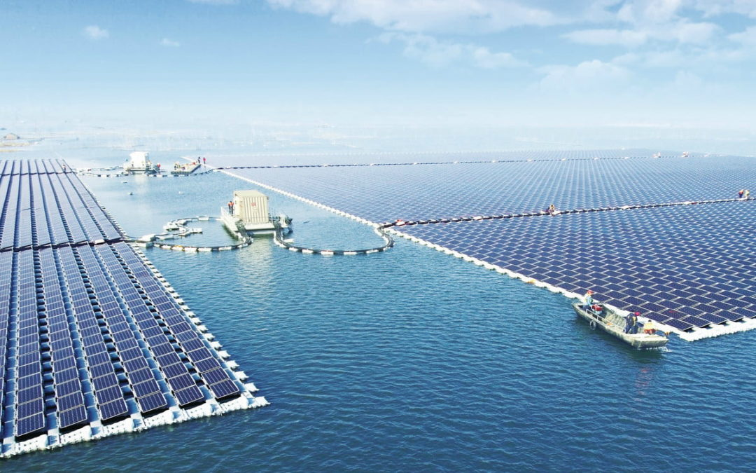 The largest floating PV plant